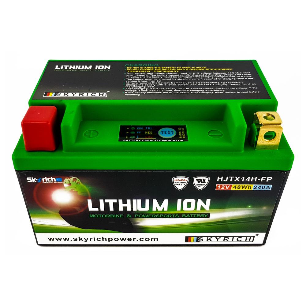 2003-2005 Lithium Ionen LiFePo4 Batterie HJTX14H-FP 12V Suzuki SV 1000 S2 Bj