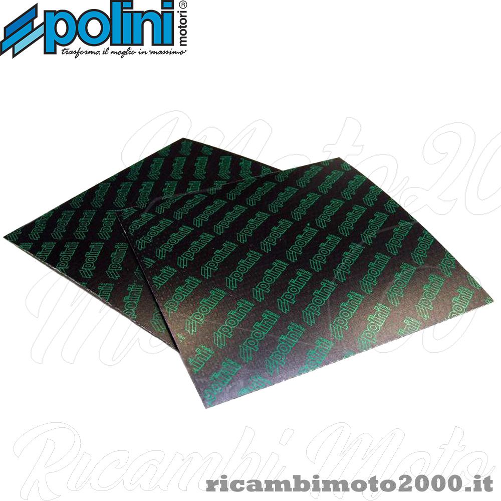 POLINI SET LASTRE FOGLI IN FIBRA DI CARBONIO PER LAMELLE SPESSORE 0,25 mm