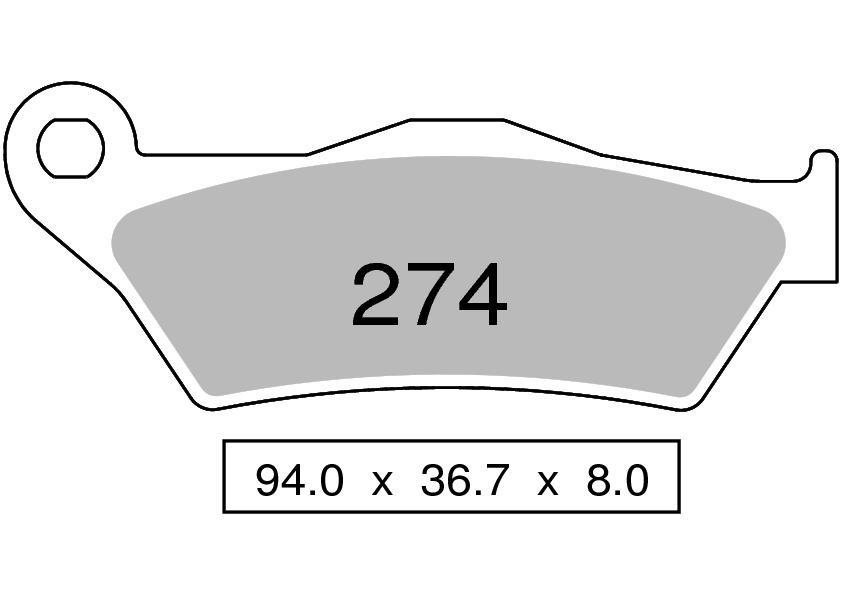 FDB2050ST PASTIGLIE SINTERIZZATE ANTERIORI FERODO BMW 1150 R 1150 GS 1999