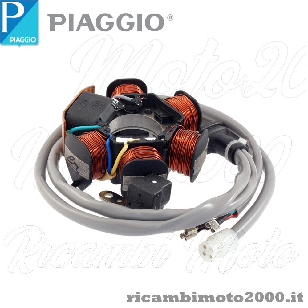 Schema Elettrico Zip : Elettrico statore magnete originale gilera piaggio vespa t