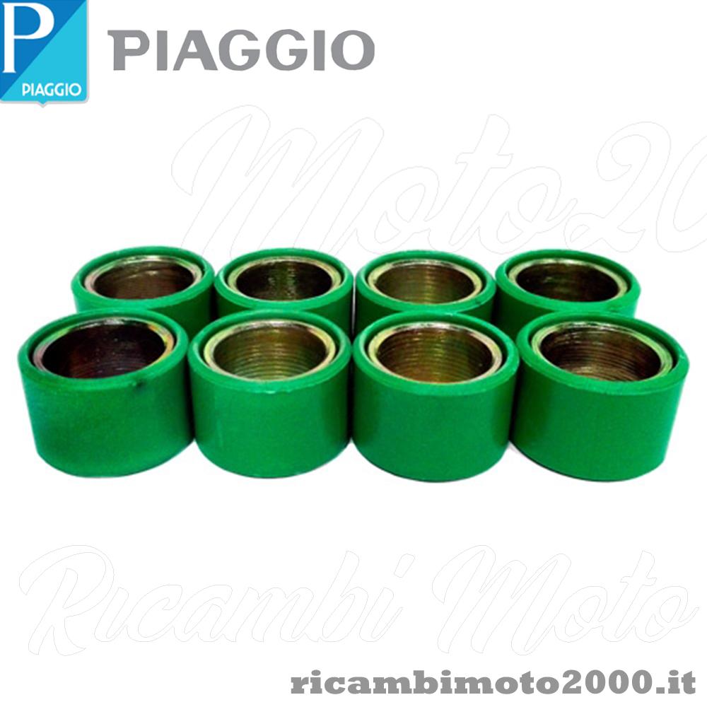 KIT SERIE RULLI VARIATORE PER PIAGGIO APRILIA 16x13 gr 3,6