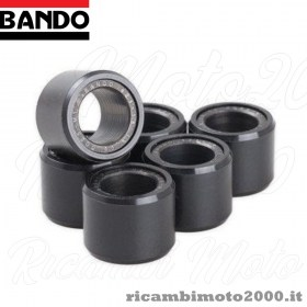 Kit 6 rulli alleggeriti cinghia trasmissione Bando SH 300 2007//2014